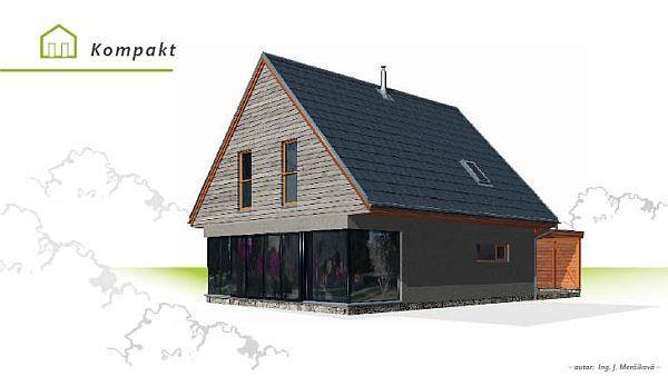 Foto: www.vyjimecnedomy.cz, dům kompakt