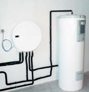 Foto: www.geothermie-confort.com, AQUALEA  a zásobník na&nbspteplou vodu