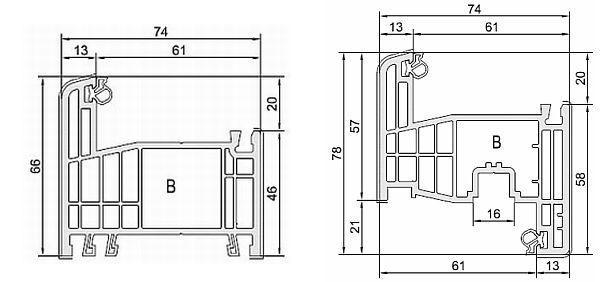 Obr: LD INVEST, 7 komorový profil