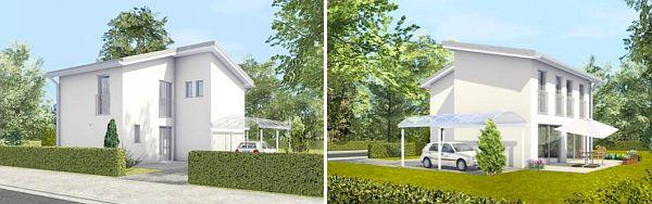 Obr: DENNERT Massivhaus, typový nízkoenergetický dům ALFA - Valencia