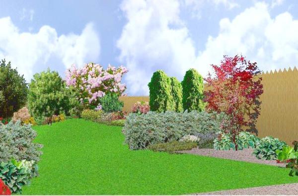 Foto: PROJEKTY ZAHRAD, 3D podoba projektu - vizualizace