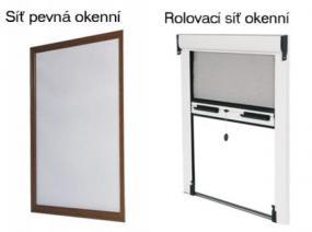 Foto: Firma STÍN, okenní sítě