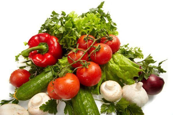 Ilustrační foto (www.shutterstock.com), zelenina + žampiony