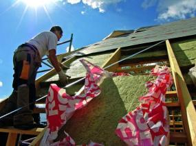 Při rekonstrukci je mnohdy třeba udělat úplně nový krov.