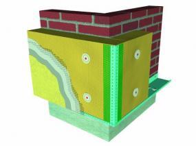 Zateplení fasády systémem ETICS – materiál Frontrock MAX E.