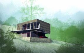 Oceněný dům soutěže Rockhouse 2009 je postaven vpasivním standardu a sizolacemi Rockwool.