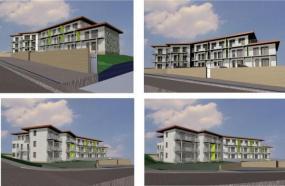 Vizualizace bytového domu