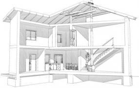 Realizovaný projekt nástavby RD