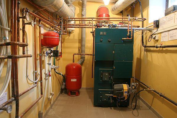 Ilustrační foto (www.shutterstock.com), kotelna