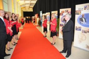 Fotografie z vyhlášení vítězů mezinárodní soutěže Energy Globe Award