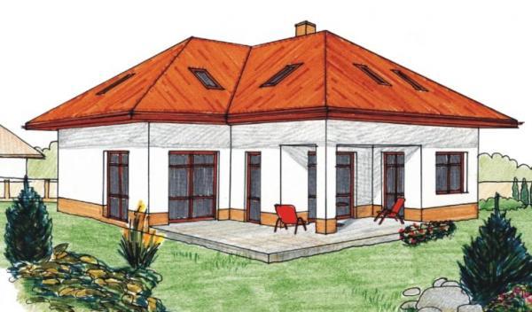 Obr: AS servis VELOX, typový dům ANDROMEDA