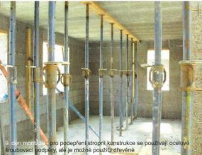 Foto: AS servis VELOX, podpěry stropní konstrukce