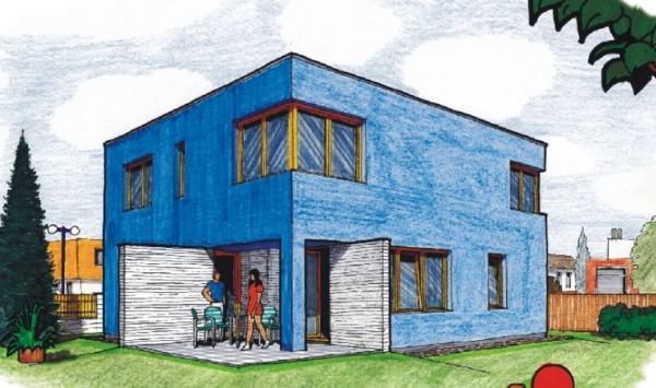 Obr: AS servis VELOX, typový dům BLUES
