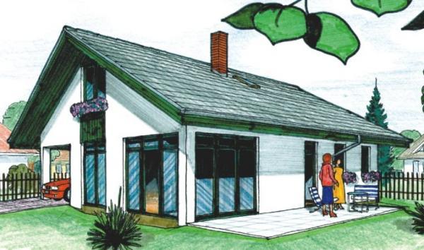 Obr: AS servis VELOX, typový dům DIANA