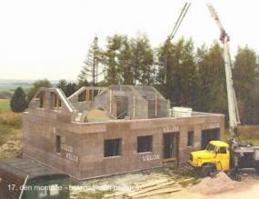 Foto: AS servis VELOX, betonáž stěn podkroví