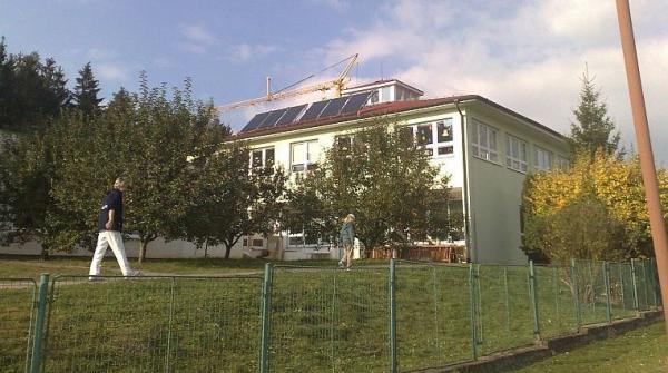 Foto: Regulus, areál školy