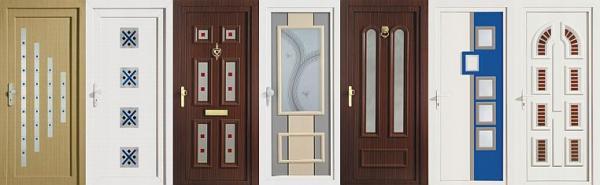 Obr: OKNOSERVIS, vybrané typy dveřních výplní