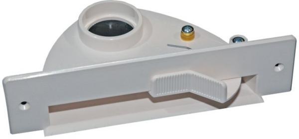 Štěrbinová zásuvka VAC PAN I plastová bílá