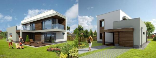 Dům SPRUCE 20 passive,  měrná potřeba tepla 14 kWh/m2.a