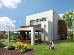Dům MAPLE 20 passive, měrná potřeba tepla 17 kWh/m2.a