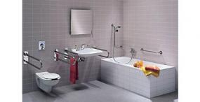 Zdroj: www.sanitec.cz, vybavení koupelny pro tělesně postiženého
