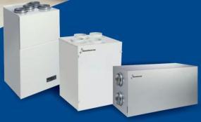 Jednotky automaticky řízené domácí ventilace Dantherm