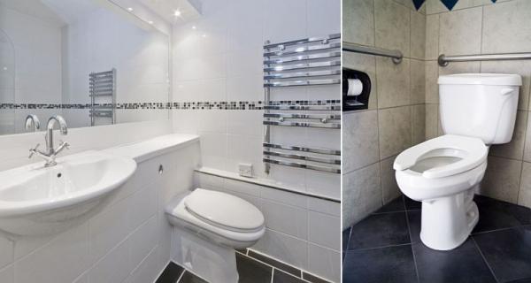 Ilustrační foto (www.shutterstock.com), nová koupelna a WC