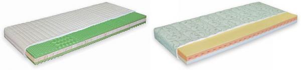 Matrace Pur - pěna a matrace Materasso Lazy - Foam pěna