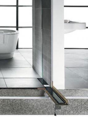 Advantix Basic je hospodárnou alternativou pro sprchy zapuštěné do úrovně podlahy.