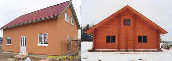 Foto: LUBOMÍR VONDRA, dřevostavba versus stavba srubová - NEZAMĚŇOVAT!