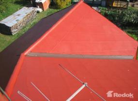 Foto: Redok, realizovaná plechová střecha