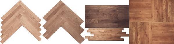 Foto: Dřevěné podlahy Stach, parketové vzory