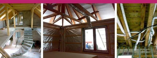 Rekuperační jednotky montujeme do klasických zděných staveb, dřevostaveb, i při rekonstrukcích