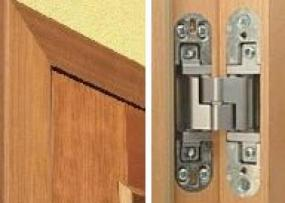 Zárubeň Normal pro bezpolodrážkové dveře a provedení skrytého závěsu