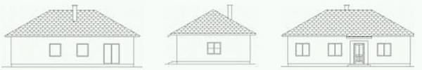 Typový dům Abies, pohledy