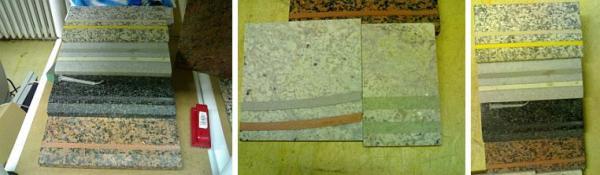 Foto: Renovace kamene Pokorný, barvy protiskluzných pryskyřičných pásků