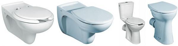 Foto: www.sanitec.cz, záchodové mísy a prkénka