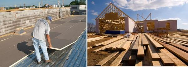 Ilustrační foto (www.shutterstock.com), střecha plochá a šikmá