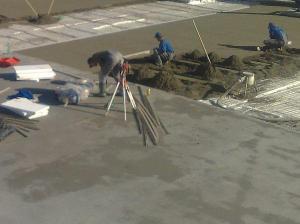 Foto: Beton K.R., ftradiční beton - cementový potěr