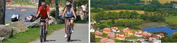 Foto: BETA 1 DEVELOPMENT, sporty v lokalitě a letecký pohled na DOMY TŘEBOŇSKO