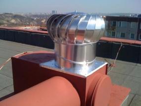 Foto: Tauris plus, ventilační turbína VIV 16/400