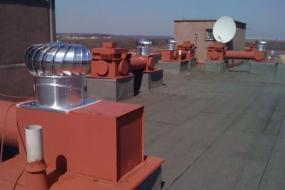 Foto: Tauris plus, ventilační turbíny VIV 16/400