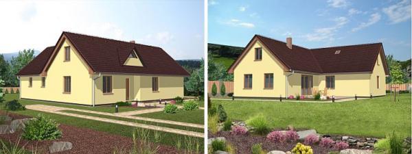 Obr: ISA Praha, nízkoenergetický rodinný dům Radisa