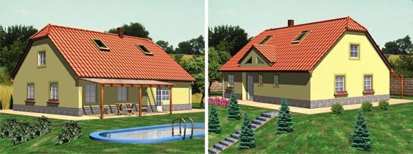 Obr: ISA Praha, nízkoenergetický rodinný dům Denisa