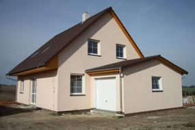 Obr: ISA Praha, nízkoenergetický rodinný dům