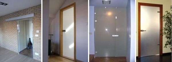 Foto: GLASS BLOCK, skleněné dveře