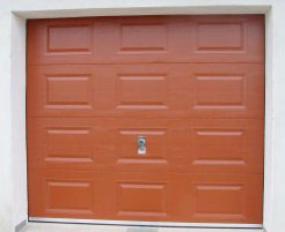 Foto: CONTOUR, sekční garážová vrata