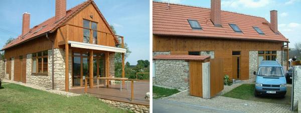 Foto: KVB STAV, kompletní rekonstrukce rodinného domu