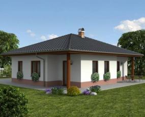 Obr: Ekonomické stavby, rodinný dům Katka