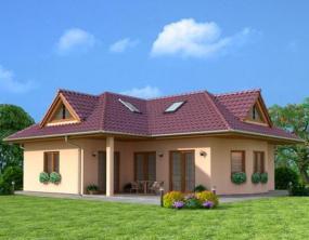 Obr: Ekonomické stavby, rodinný dům Samuel